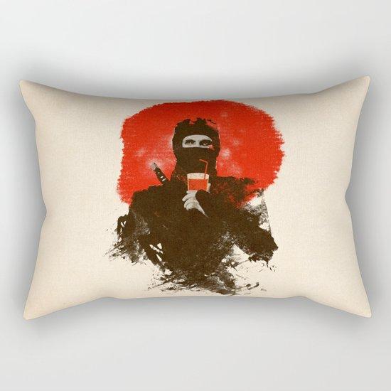 American ninjas like Bloody Mary Rectangular Pillow