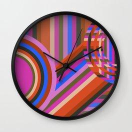 Stripe Season Part 4 Wall Clock