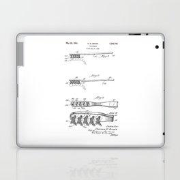 patent art Brown Toothbrush 1939 Laptop & iPad Skin