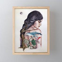Binominal Nomenclature Framed Mini Art Print