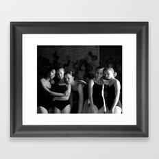 Sigh Framed Art Print
