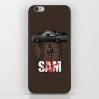 sam smith iPhone & iPod Skins featuring Sam by Six Eyed Monster
