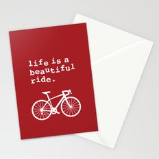 Life is a Beautiful Ride - Bike Stationery Cards