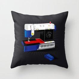 Ma-Singer Throw Pillow