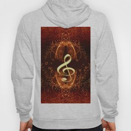 Decorative clef Hoody