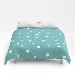 Seamless Polka Dots Pattern Comforters