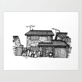 4 Privet Drive Art Print