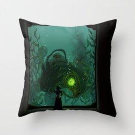 Songbird's Sacrifice Throw Pillow