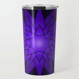Mandala mauve Travel Mug