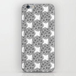Black Verbena iPhone Skin
