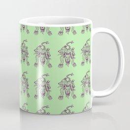 Ancient Cerberus Mythical Mythology Color Pattern Coffee Mug
