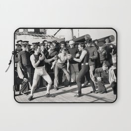 Boxing on a Naval Ship, 1899 Laptop Sleeve