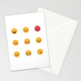 Emojis: All Stationery Cards