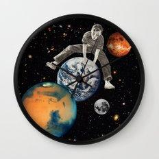 Star Hopper Wall Clock