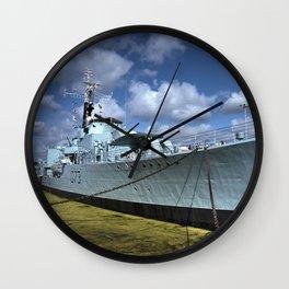 HMS Cavalier Wall Clock
