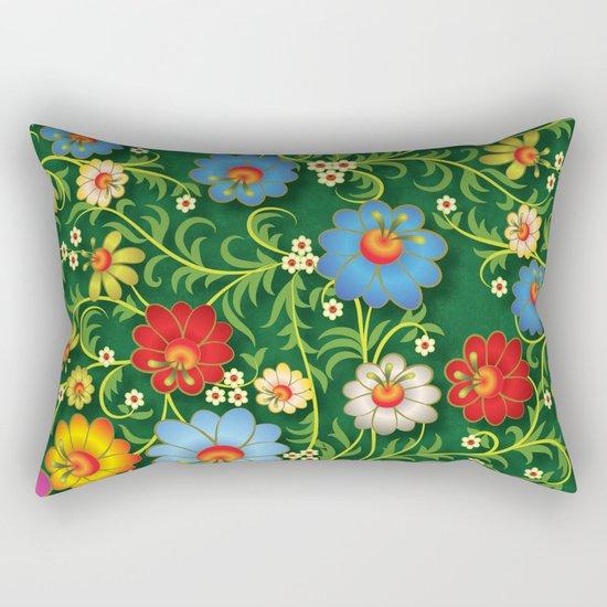 Shabby flowers #16 Rectangular Pillow