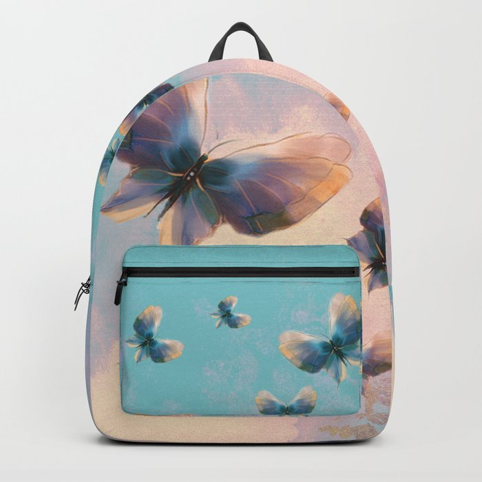 Happiness is a butterfly Backpack