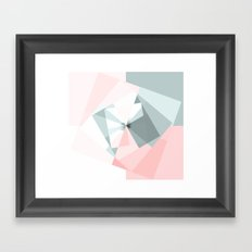 Geometry 1 Framed Art Print
