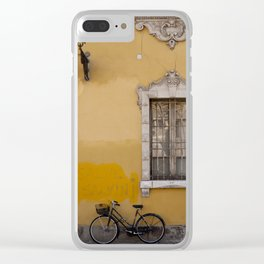 On the Street in Parma Clear iPhone Case
