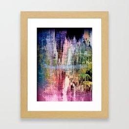 Born in a Wonderful World Framed Art Print