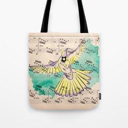 Mandolin Waltz Tote Bag