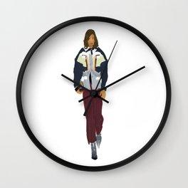 Kamala in Louis V Wall Clock