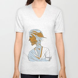 Ballad of the Lonesome Wolfboy  Unisex V-Neck