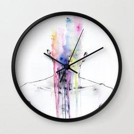 Man Art Wall Clock