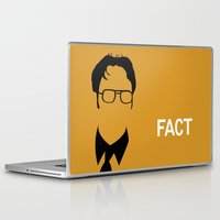 dwight Laptop & iPad Skins featuring Dwight Schrute by Stacia Elizabeth