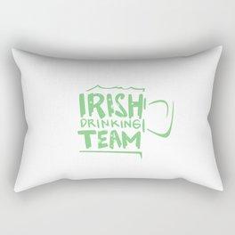 Irish Drinking Team Rectangular Pillow