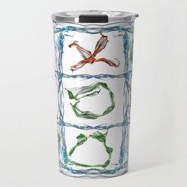 X and O Travel Mug