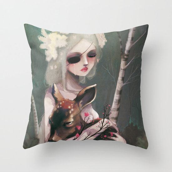The day before the wedding Throw Pillow