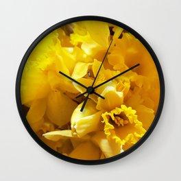 Daffs Wall Clock