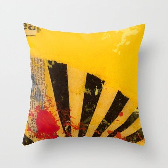 YELLOW5 Throw Pillow