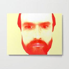 Self REDy Metal Print