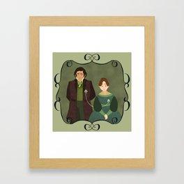 String (Jane Eyre) Framed Art Print