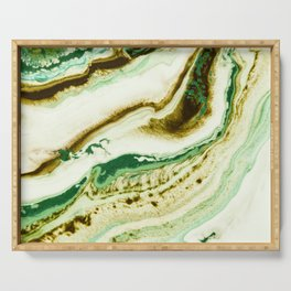 Green fever Serving Tray