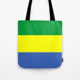gabon country flag Tote Bag