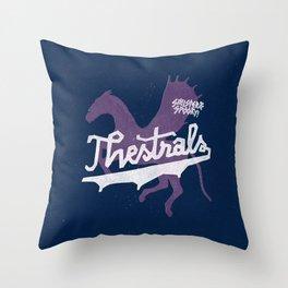 Thestrals Throw Pillow