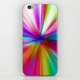 Rainbow Zoom iPhone Skin