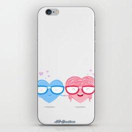 Nerd Love #1 iPhone Skin