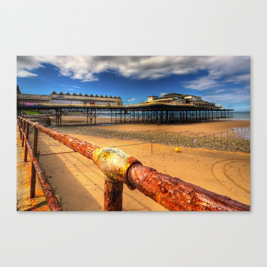 Rusty Pier Canvas Print