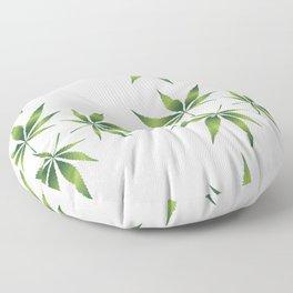 Marijuana Leaves Floor Pillow