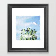 Cactus Heaven Framed Art Print
