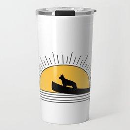 Morning paddle Travel Mug