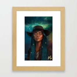 Storm Mistress Framed Art Print