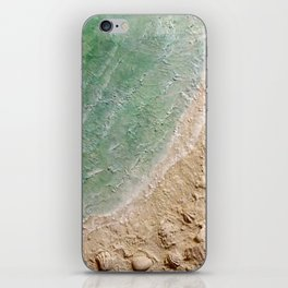 Wave Whispers iPhone Skin