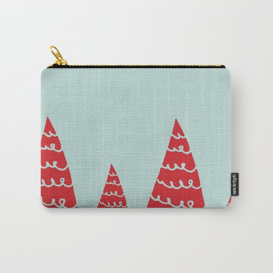 Funky christmas tree Carry-All Pouch