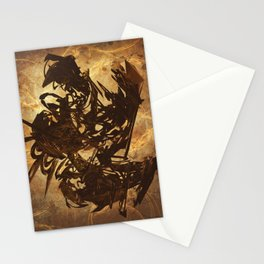 Arty Abstract Stationery Cards