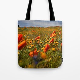 Color the fields of Lancaster California Tote Bag